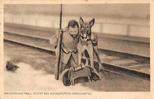 Wounded Soldier Medic Military Dog Antique Postcard (J27319)