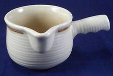 Churchill gravy boat avec poignée pot à lait Sauce Cup Homespun grès Staffs.