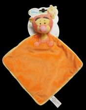 Doudou Tigrou DISNEY Plat Orange Jaune NEUF
