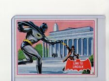 1966 Topps Batman (Red Bat) #17B EXMT Puzzle Back Card