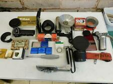really old vintage camera accessories LOT found in a box