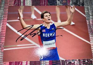 Jakob Ingebrigtsen Signed (Norway)