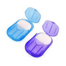 Traveler's Paper Soap,  20 sheets per dispenser - assorted colors NEW