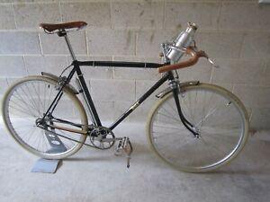 BSA 1950's Path Racer Bicycle - Single Speed - Black 52cm Frame - Eroica