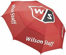 Wilson Staff Pro Tour Umbrella, Red UK POST FREE