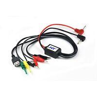 Test Clip Hook Probe Cable Banana Plug Phone Repair USB DC Power Interface Lead
