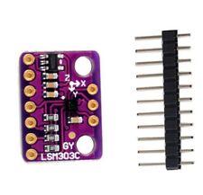 LSM303C LIS3MDL Magnetometer 3 Axis Magnetic Field Acceleration Sensor Module