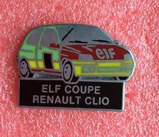 Pins Voiture ELF COUPE RENAULT CLIO Car