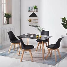 Table Salle à Manger Rectangulaire Scandinave Design Table de Cuisine 110X70 cm