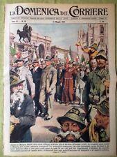 La Domenica del Corriere 17 Maggio 1959 Mondadori Alpini Wilma De Angelis Calcio