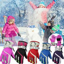 Kinder Handschuhe Skihandschuhe Snowboard Winter Thermo Warm Fahrradhandschuhe