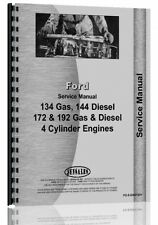 Ford 134 144 172 192 Engine Service Manual Fo S Eng 134