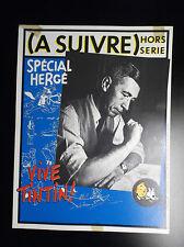 RARE Affiche A suivre Hergé Tintin avec Cachets