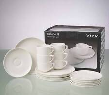 Villeroy & Boch VIVO Just U white - 18 piece coffee / tea set NEW BOXED