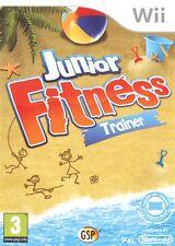 NEUF: Jeu JUNIOR FITNESS TRAINER nintendo WII game francais enfant plage ile
