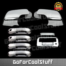 FOR FORD EXPLORER SPORT TRAC 07-09 CHROME MIRROR,DOOR HANDLE,TAILGATE COVER PKH