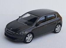 Norev 3 inches 1/64. Peugeot 308 gris moka  Neuf en boite