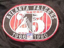 ATLANTA FALCONS 25 ANNIVERSARY  DEION SANDERS THROWBACK BLACK JERSEY SIZE 36
