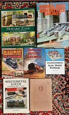 More details for x7 model and miniature railway trains 5 hardback books collection job lot ref1