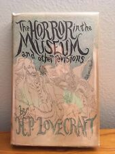 The Horror in the Museum and other revisions by H.P.Lovecraft First Edition 1970