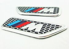 BMW M sport logo Side Decal Badge Emblem For All BMW 1 3 5 X 1 3 4 5 6