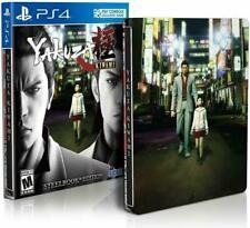 Yakuza Kiwami: SteelBook Edition (Sony PlayStation 4, 2017) PS4 NEW