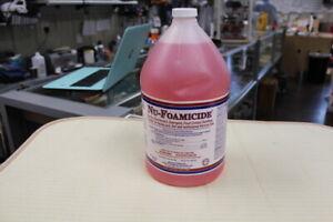 Glissen Chemical 300048 Nu-Foamicide All-Purpose 1-Gallon Cleaner Concentrate