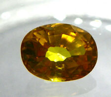 4,00 ct. Gelbe Ceylon Saphire Lupenrein inkl. GGL Zertifikat