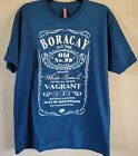 Men's Boracay Old Time White Beach Nitrox Whiskey T-shirt X-Large