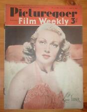 PICTUREGOER MAGAZINE No 533 Vol II 9TH AUG 1941 LANA TURNER FRONT COVER