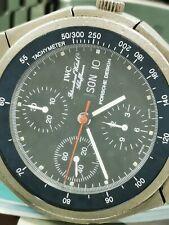 Jumbo IWC Porsche Design-Big Men Watch Titan Chronograph Automatik Day-Date