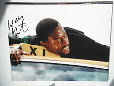 BAD BOYS MARTIN LAWRENCE SIGNED ON TOP OF CAB 11X14