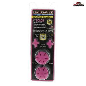 Limbsaver Split Limb String Leech Pink Archery ~ New