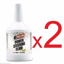 Red Line 30404 Synthetic Power Steering Fluid ***2 QUARTS***