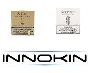 5-Pack Genuine Innokin S Coil / For Sceptre /Sensis / 0.5 / 0.65 MTL / 1.2 ohms