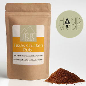 250g Texas Chicken Rub BBQ Spice Rub Barbecue Rub Grillmarinade Trockenmarinade