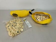 New & Used - BANANAGRAMS Letter Word Alphabet Tile Board Game Puzzle Learn Kids