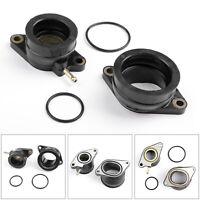 4x Intake Carburateur Pipes D'Admission Pour Yamaha XTZ/SZR660 MZ/MUZ SM660 New