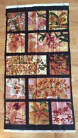 ✂ Orchid Panel Reds Oriental Traditions Robert Kaufman Cotton Fabric Destashing