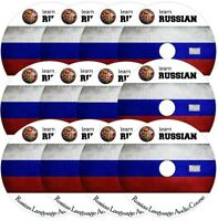 Learn RUSSIAN Language Training Course on 12 AUDIO CDs