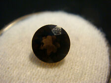 Smoky Quartz Round cut Gemstone 7 mm 1.50 carats Natural Gem