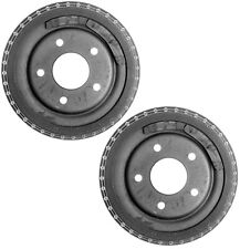 """Pair Set of 2 Rear Brake Drums ACDelco Pro For Buick Regal GMC S15 9-1/2"""" Brakes"""