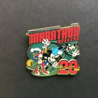 WDW 2013 Marathon Weekend Logo Donald Mickey Mouse and Goofy Disney Pin 94371