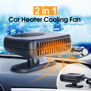 500W Electric Car Heater 12V DC Heating Fan Defogger Defroster Demister XW703