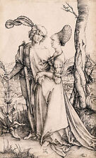 Albrecht Dürer - The Promenade, La Promenade, Durer Poster, Art Canvas Print