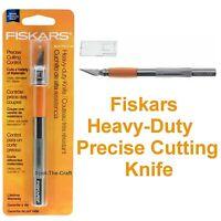 Fiskars Knife Precise Detail Cutting Softgrip Craft Tool F167110