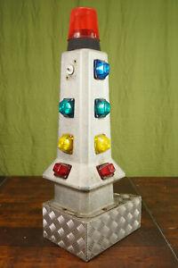 Vintage Carousel Floor Lamp Schausteller Lamp Decor Fence Post Space Age 70er 5
