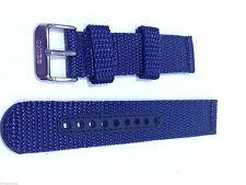 Genuine 20mm Seiko Blue Nylon Strap Band Watch Model SNN079 -Strap Model 4KE2JZ