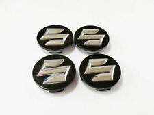 4pcs/lot Black Suzuki 54mm Outer Diameter Silver Wheel Center Hub Caps Cover