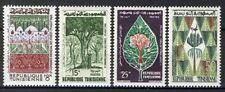Tunisia 1960, Tree, Forest set VF MNH, Mi 567-570